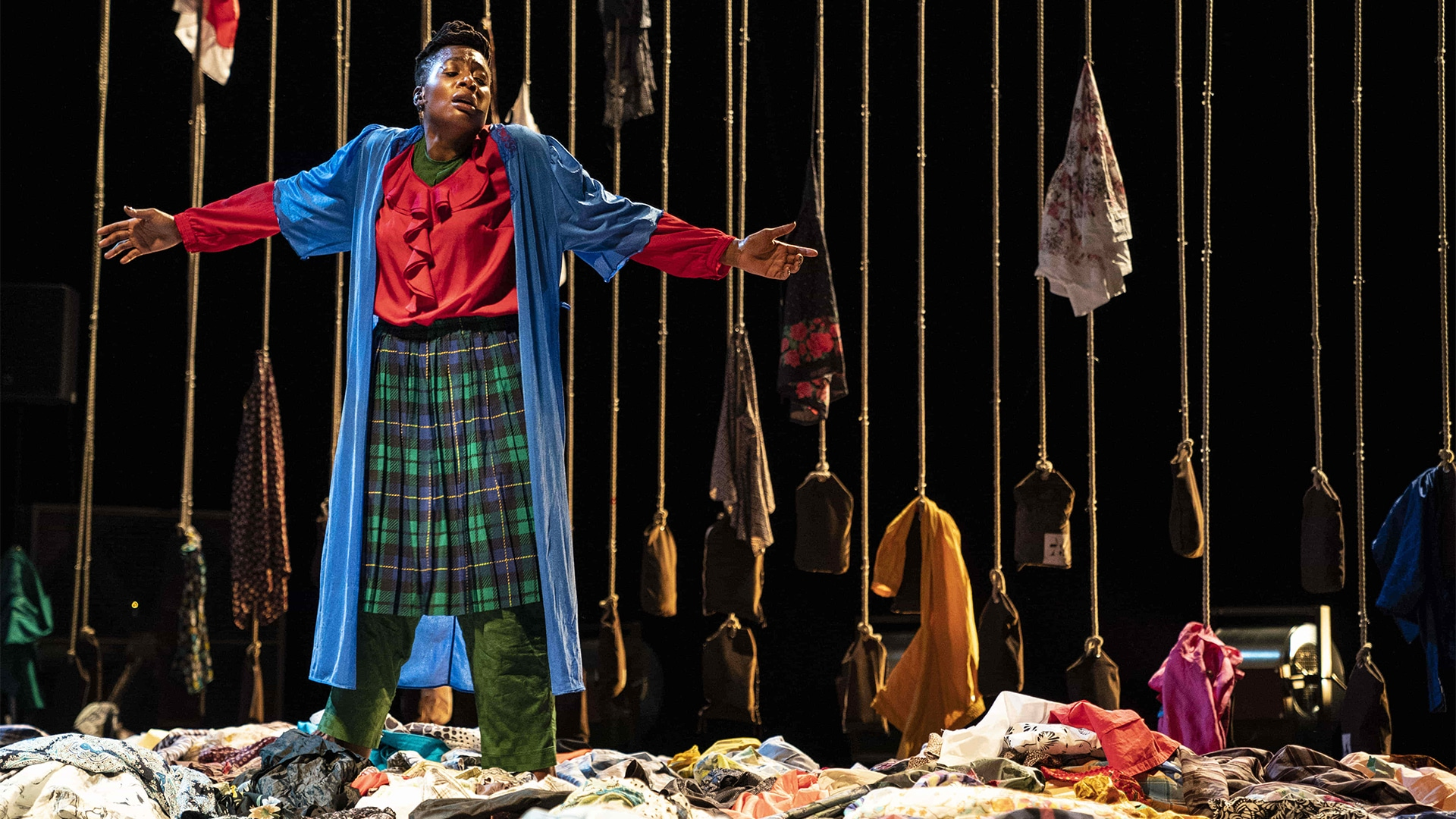 Función de teatro del Festival Grec
