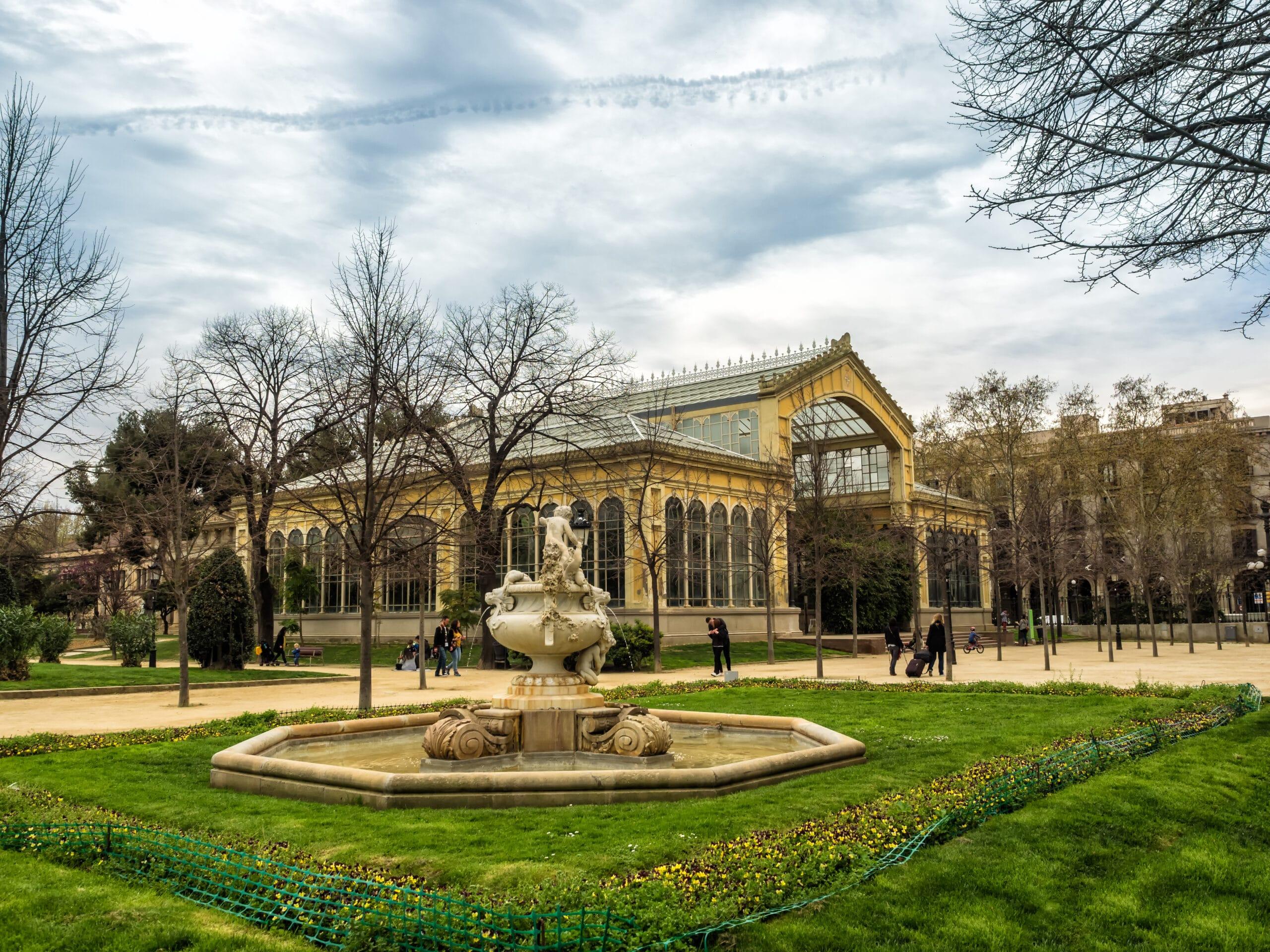 Umbracle, en el Parc de la Ciutadella